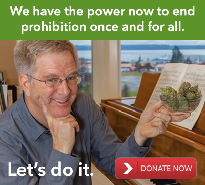 Rick Steves Donate to NORML