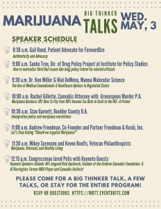 Marijuana Big Talks Speaker Lineup FINAL 5.3 copy