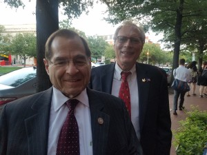 NORML Board Chair Steve Dillon with Nadler
