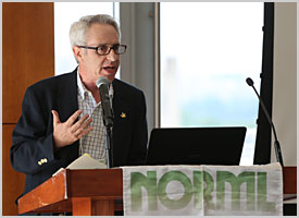 Allen St. Pierre addresses attendees to NORML 2016 Congressional Lobby Day and Conference