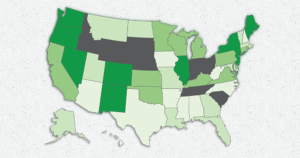 NORML Governors Scorecard for Marijuana