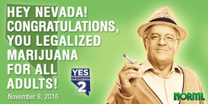 Nevada Legalized Marijuana